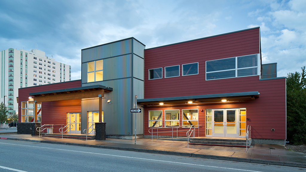 Downtown Soup Kitchen Hope Center | Nvision Architecture